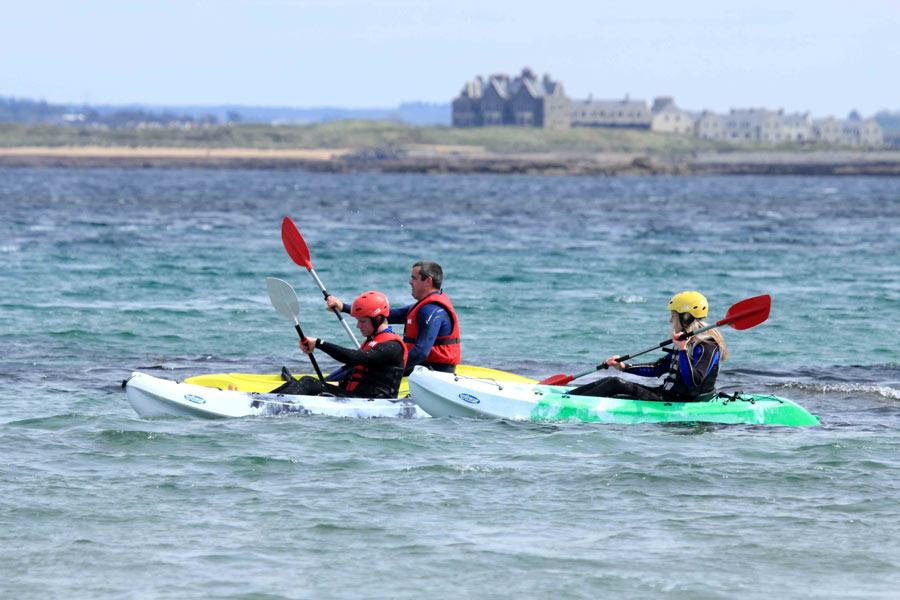 Kayaking in Doonbeg